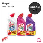 [RB] Harpic Liquid 500ml Value Pack x 3 | Stocks from Singapore