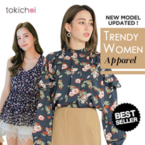 TOKICHOI - Special Price!!Trendy Selected Tops/Blouses/Shirts/Dress/Tank