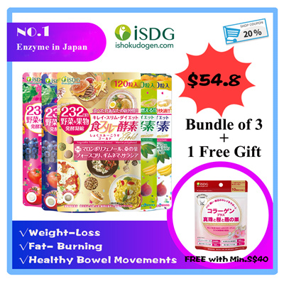 07eb41c53e2 【Gift with Purchase】Official Store ISDG Enzyme.Weight Loss/Body-Shaping