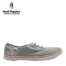 Hush Puppies SG Limited Edition Charley Canvas Sneakers (Mens- Grey)