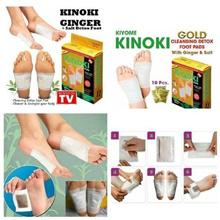 Bundle 100pcs (10 Box) KINOKI Cleansing Detox Premium Foot Pad (As Seen On TV) *100% Natural*