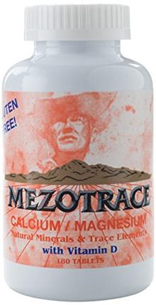 Calcium/Magnesium Minerals and Trace Elements W/Vitamin D 180 Tablets