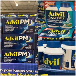 최저가 미국 애드빌 Advil Liqui-Gels Ibuprofen 200mg 240캡슐/200캡슐/Advil PM 200정/Advil Ibuprofen 200mg 360정/300