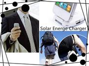Portable Solar Power Bank 500MAH Bateria externa portable USB LED External Mobile Phone Battery Char