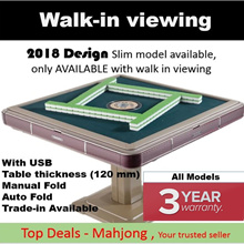 🇸🇬 3 year free warranty 🇸🇬 Mahjong Table 🇸🇬 Folding Automatic Mahjong table Mothers day gift