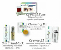 【4 options】CREME 21/SUNBLOCK/CRYSTAL EYE/DEEP CLEANSING BAR