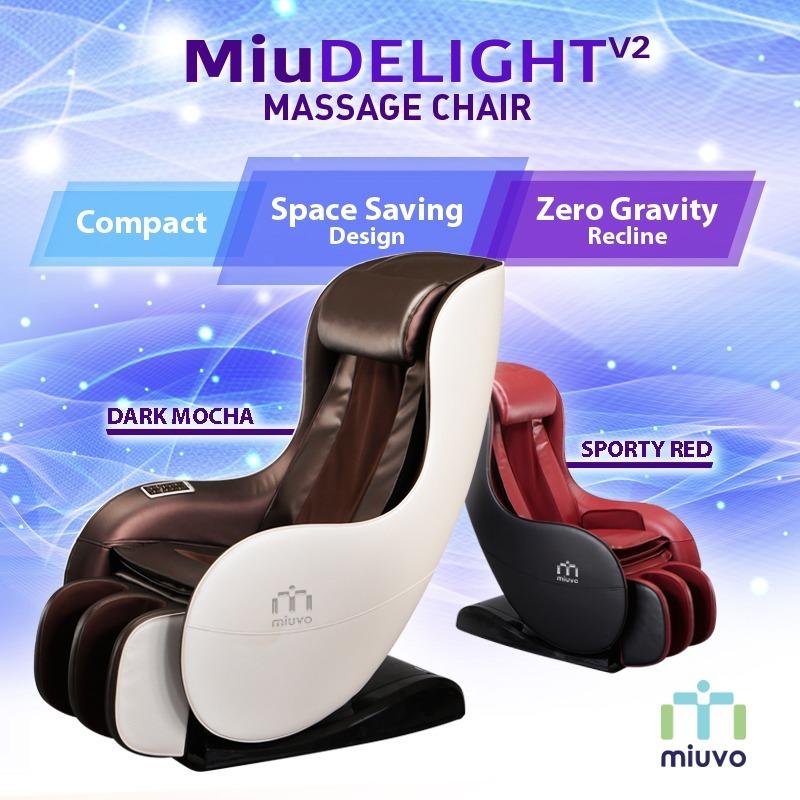 Qoo10 - ☆2020 BEST DEAL New Colours!☆Miuvo MiuDelight V2 Massage Chair ☆  Massa... : Furniture & Deco
