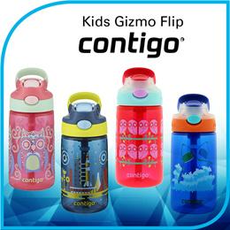 cf64cae065 Contigo AUTOSPOUT Gizmo Flip Kids Water Bottle 14oz - Leak-proof / BPA-Free
