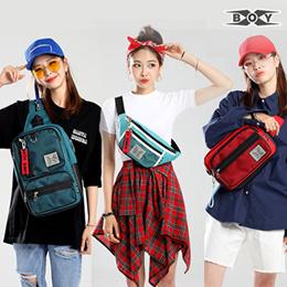 [BAGBOSS x HowRU] XBOY Hip Sack / Messenger / Sling Bag / Casual UNISEX bag  / Travel