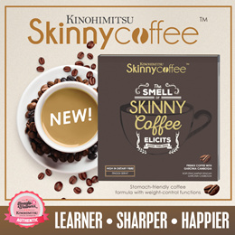 [NEW PRODUCT] Kinohimitsu Skinny Coffee 14s *Boost Energy/Mood/Alertness*Support Weight Management