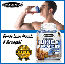SALE!!【MuscleTech Premium 100% Whey Protein Plus】Increase Lean Muscle Growth N Strength