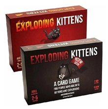 Exploding Kittens Cards Against Humanity 550 Cards  Bananagrams Spot It Joking Hazard Awkward Turtle