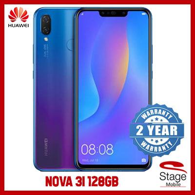 Huawei MobileHuawei Nova 3i 4GB | 128GB (Black/Purple) 2 Year Huawei  Singapore Warranty