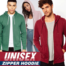 [BUY 6 FREE SHIPPING] Best Quality Jacket Hoodie Plain UNISEX with Zipper