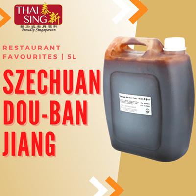 Szchuan Doubanjiang Hot Bean Paste - 5L