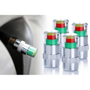 Safety Car Tyre Air Pressure Warning Indicator Caps (4 in 1 Set)