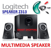 Logitech Speaker System Z313 Multimedia SPK 980-000413 Singapore Stock Portable(not Bluetooth)