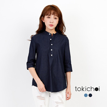 TOKICHOI - Casual Denim Shirt-171344-Winter