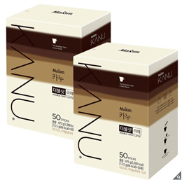KANU Double Shot Latte Coffee 13.5g x 50 sticks x boxes