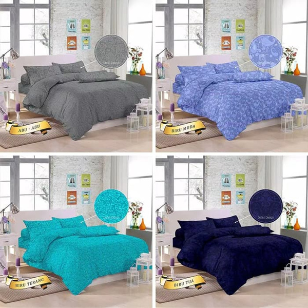 Sprei Sett Monalisa Jacquard uk 180x200x20 Cm Deals for only Rp99.000 instead of Rp120.732