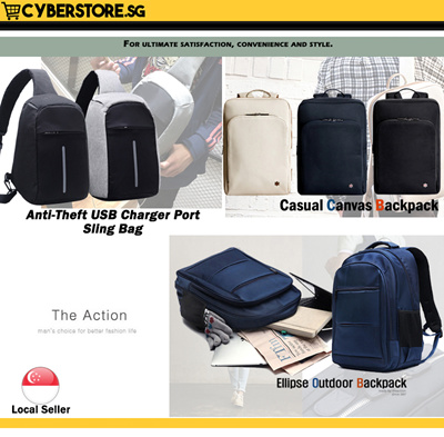 ZGSP omputer Backpack Retro Leisure Waterproof Anti-Theft Computer Compartment 15 inch High Capacity Student Backpack Blue