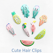 Quick View Window OpenWish. rate 5. Cute BB Clips  Hair Accessories Animal Hair  Clips  Flamingo Pineapple Mermaid Watermelon ad0f4c0ad75d
