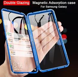Samsung Galaxy A71 A51 A41 A31 A21 A21S A11 Magnetic Metal Glass Case
