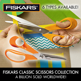 FISKARS Classic Scissors collection / Kitchen / Dressmaking / Cutting / Art Craft / 6 Types Availabl