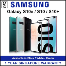 Samsung Galaxy S10 / S10+ / S10SE Samsung Flagship Phone with 1 Year Warranty By Samsung Singapore