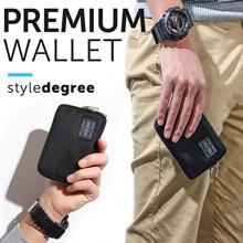 ★ MEN WALLET STORE! ★ Quality PU Leather -  Men money clip backpack bags sling bag tote card holder