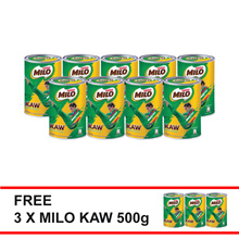 Limited Edition Milo Kaw 500g Buy 9 FREE 3