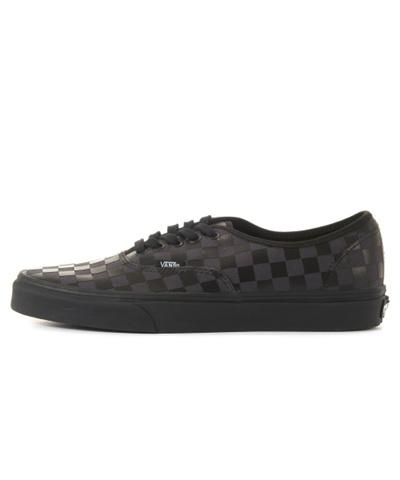 48ca0fe093a2a5 (VANS) Authentic - (High Density) black checkerboard   VN0A38EMU5B1