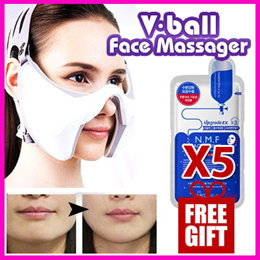 [SHIZTEC]SHIZTEC V-ball Face Massager/ Made in Korea /  Face Massager Slim UP Anti-Aging Beauty Facial