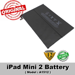 Original iPad Mini 2 Battery Model A1512 Internal Battery 1 Year Warranty
