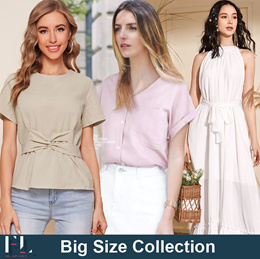 ●Buy 3 Free shipping fee● Plus Size S~5XL / Casual Tops / Shirts / Blouses / Tops / Korean Style
