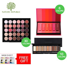[Nature Republic ] Pro Touch Color Master Shadow Palette 30 Colors