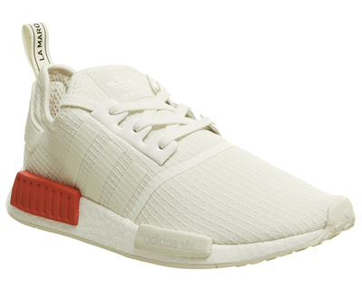 competitive price 2dd2b 694e1 adidas아디다스 Adidas Nmd R1 Trainers Off White Lush Red