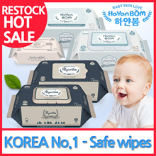 ★ HOT SALE ★ ◆ Korea Wet Wipes ◆ HAYANBOM  / Premium embossed Wet Wipes / baby wipes / Safe for baby