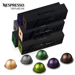 네스프레소 버츄오 캡슐 커피 베스트셀러 PACK 10X8 = 80개 묶음 무료배송