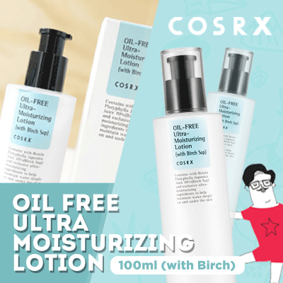 COSRX OIL-FREE ULTRA-MOISTURIZING LOTION Deals for only Rp220.000 instead of Rp220.000