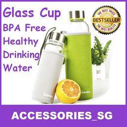 ★GSS★Wenbo Water Bottle♣Best Quality♣Best Selling in Korea Glass Water Bottle Healthy Drinking