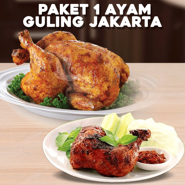 ?Ready-to-Eat?Paket 1 Ayam Guling Jakarta Deals for only Rp30.000 instead of Rp30.000