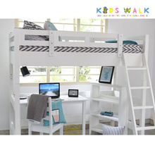 KIDS BED WITH STUDY TABLE CHAIR AND CABINET (PINE WOOD)