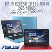 Asus E202SA Intel N3050 2GB 500GB Free Ongkir Jabodetabek