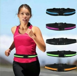 Sport Running Belt Double Pocket Deals for only Rp40.000 instead of Rp40.000