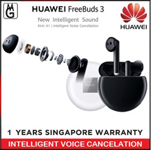 Latest..Huawei Freebuds 3 l Kirin AI l Intelligent Voice Cancellation. Huawei 1 Year Warranty