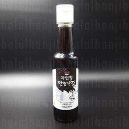 Halal Korean Allpurpose Soy Sauce - Onggojib Korean Anchovy Soy Sauce
