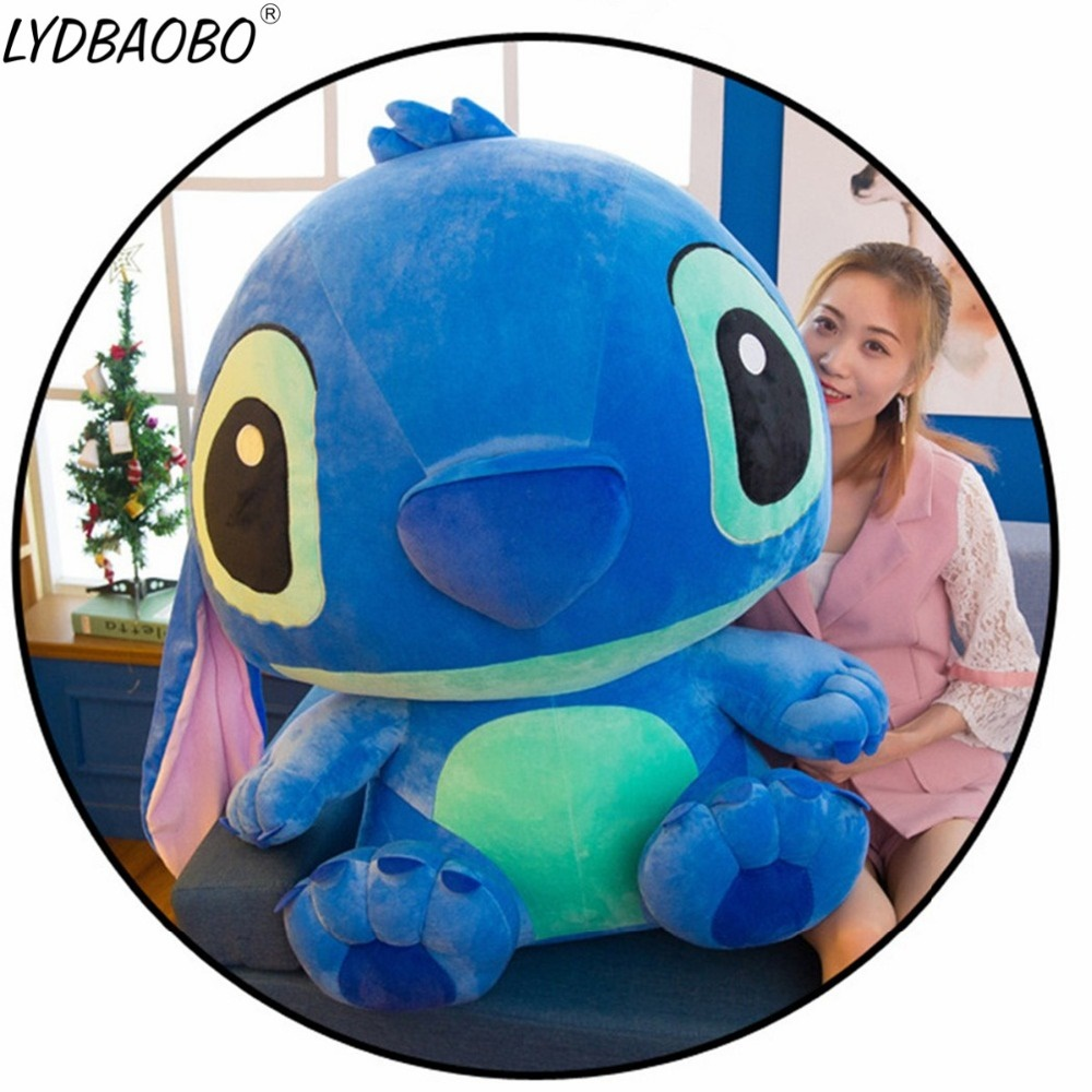 Flounder Stuffed Animal, Qoo10 55 65 80cm Super Giant Stitch Plush Toys For Kids Stuffed Animals Anim Toys