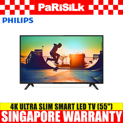 Philips 55PUT6103/98 4K Ultra Slim Smart LED TV (55-inch)