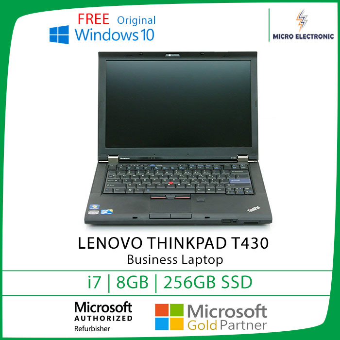 Qoo10 Lenovo Thinkpad T430 Laptop Core I7 8gb 256gb Ssd Windows 10 3 Computer Game